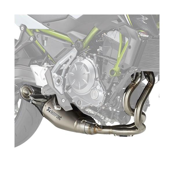 Kawasaki Ninja 650 Akrapovic Titanium sports exhaust (Full system with Cat.)