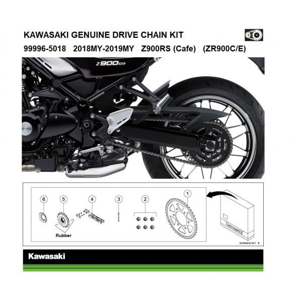 Kawasaki Z900RS Genuine chain and sprocket kit