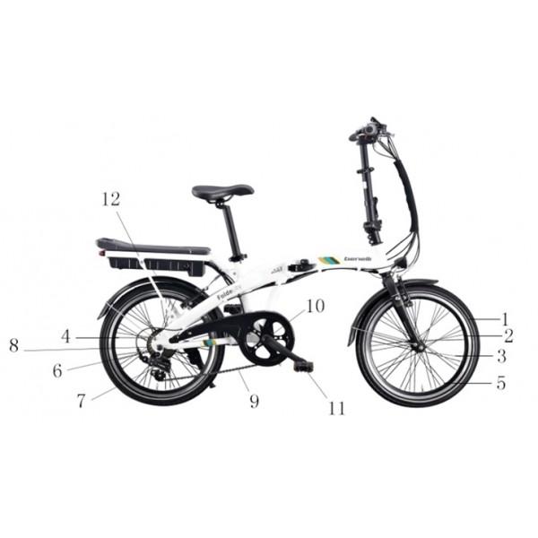 Spoke I (rear wheel)