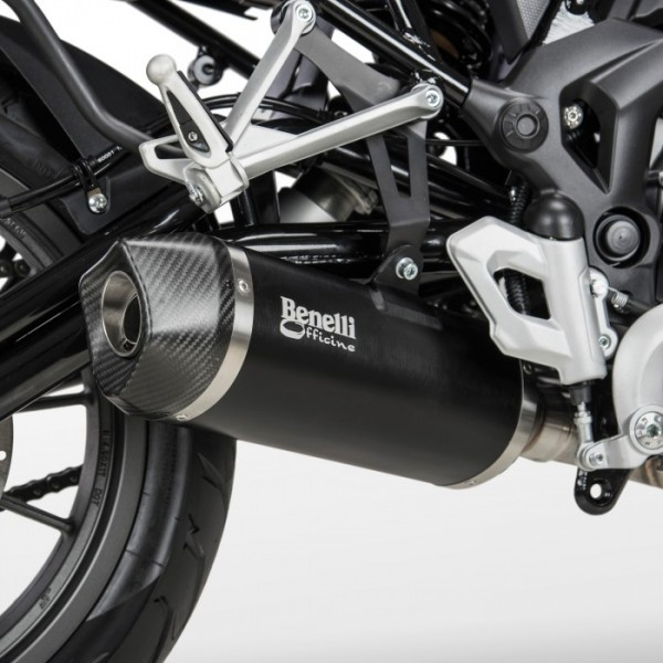 Benelli TRK 502 Arrow Silencer + Link pipe
