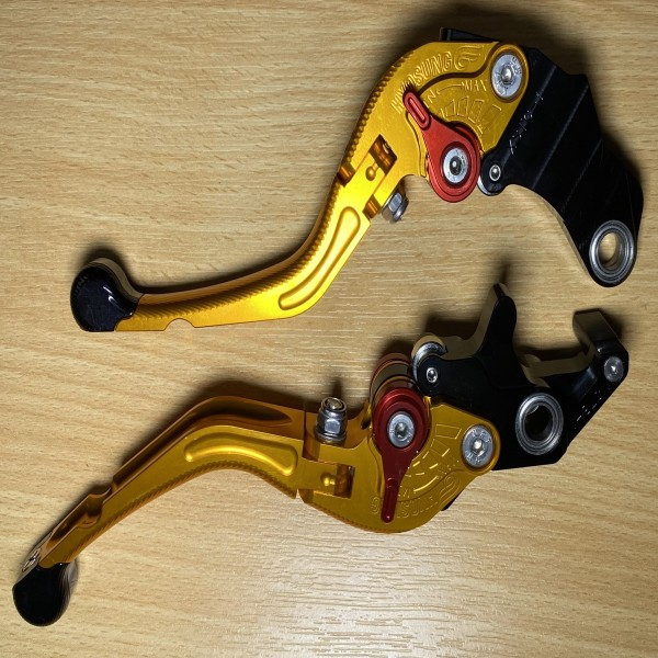 Hyosung Folding Brake Levers suitable for various models