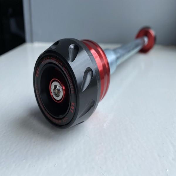 Billet Fork Axle Slider Kit Silver Hyosung GT125R GT250 GT250R GT650 GT650R
