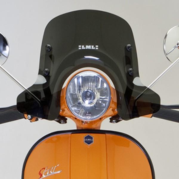 LML Star Black Sport Windshield