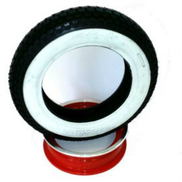 White Wall Tyre Single