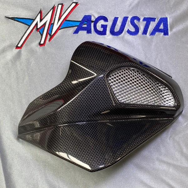 MV Agusta R/H Air-box cover carbon fiber B4
