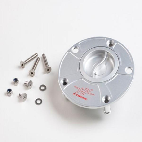 """Fuel tank cap """"fast-lock"""" silver F4/B4"""