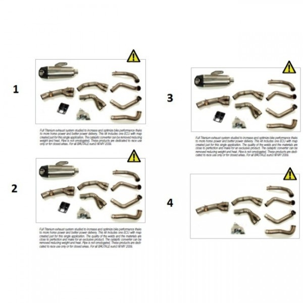 "Manifolds Titanium ""Sport"" LP B4 (spare part)"