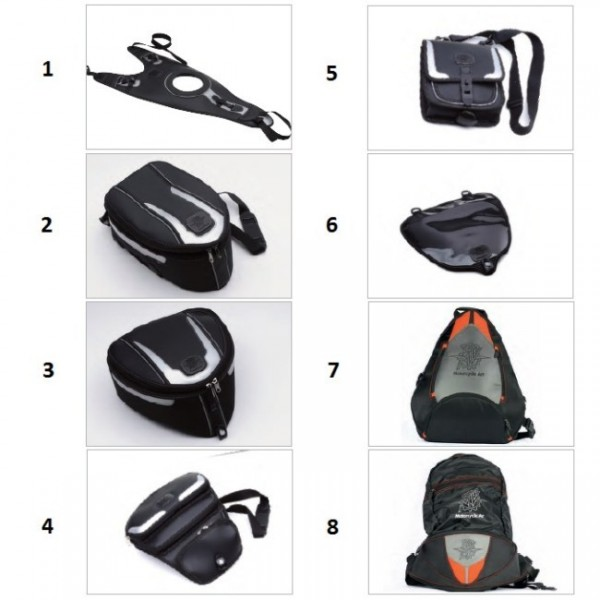 Rear seat bag F4 Y10