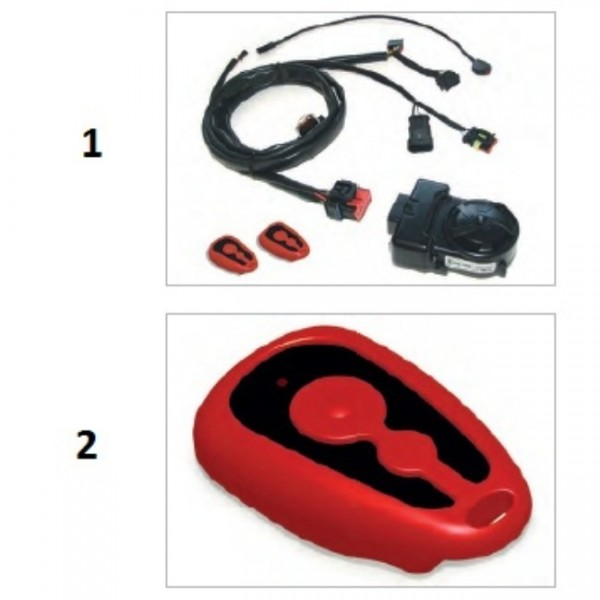 Remote control for antitheft (spare part)