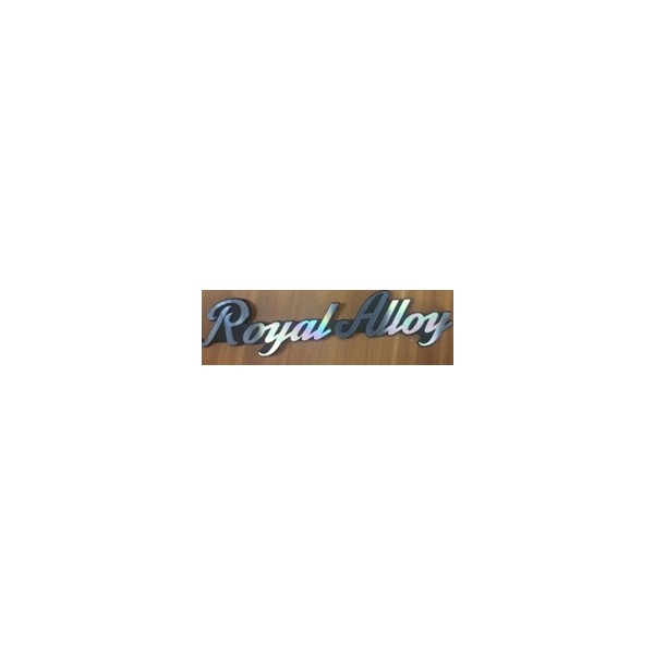 Royal Alloy sticker(metal)
