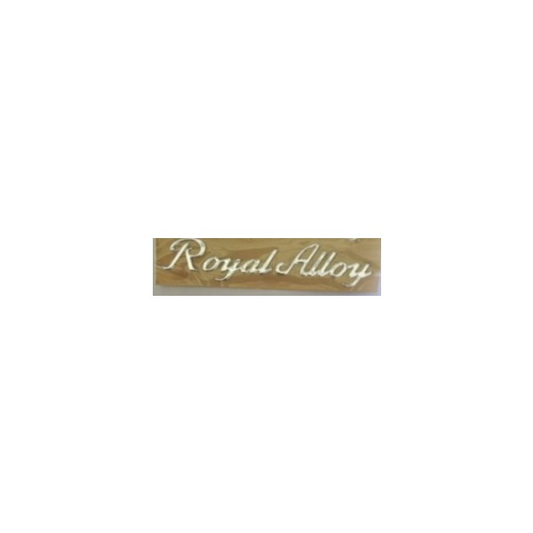 Royal Alloy sticker(soft plastic)
