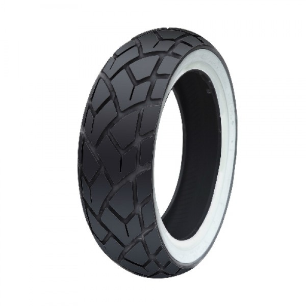 120/70/12 Rear White Wall Tyre C6017