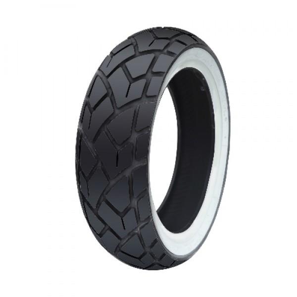 120/70/12 Rear White Wall Tyre C6017