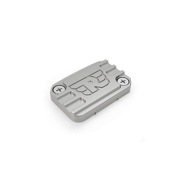 Machined Front Brake Reservoir Cap Silver