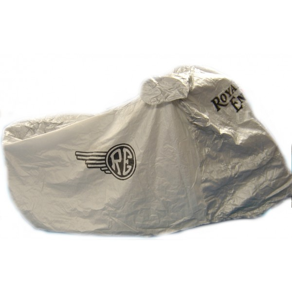 ROYAL ENFIELD - BIKE COVER SILVER