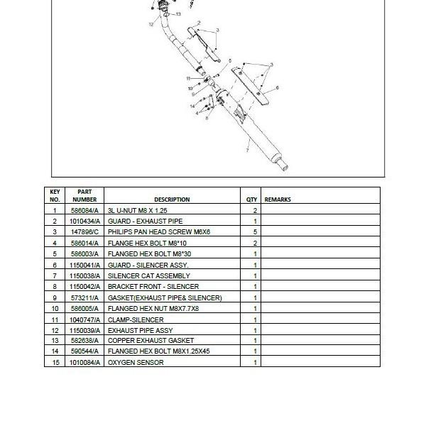 HEX FLANGE BOLT M8 X 1.25 X 38