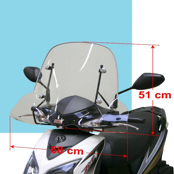 Sym Jet 4 And Symphony SR Windscreen Small