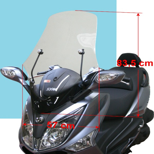 Sym Joymax And GTS Clear Windscreen (83.5cm)