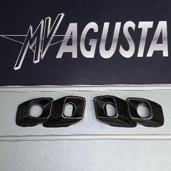 MV Agusta Carbon Exhaust Tips F4