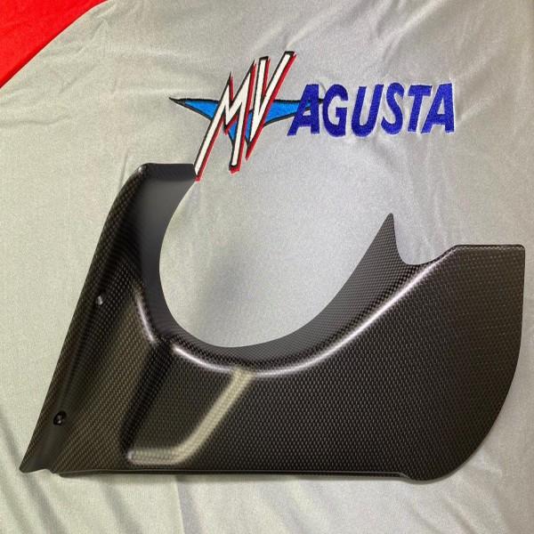 MV Agusta Right Air Box Duct Cover F4 Matt Finish