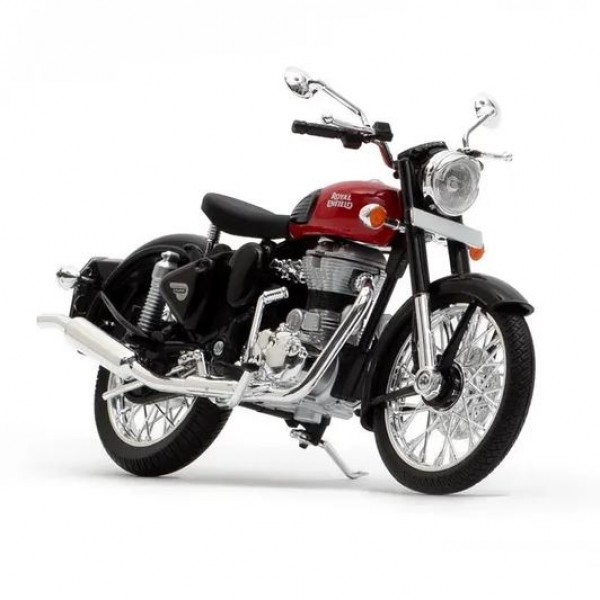 Royal Enfield Classic Redditch Red Scale Model