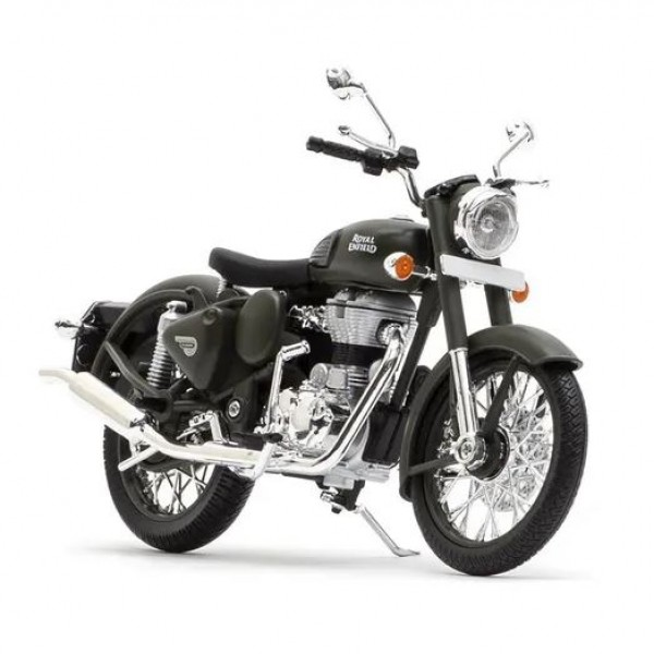 Royal Enfield Classic Battle Green Scale Model
