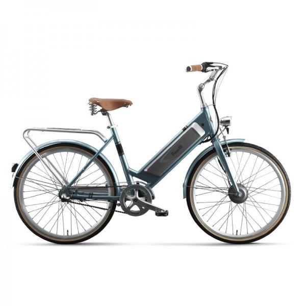 Benelli Classica Retro E-Bike Blue, 26inch wheels