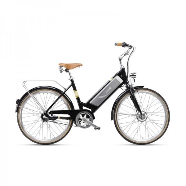 """Benelli Classica Retro E-Bike with 26"""" wheels finished in Black"""