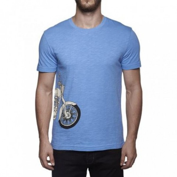 Royal Enfield Classic RE Entry T Shirt Blue