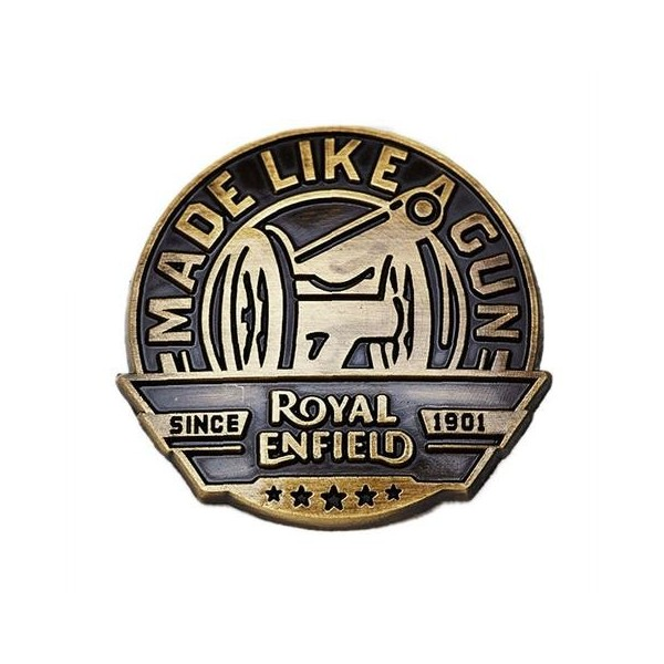 Royal Enfield MLAG Pin Badge Bronze