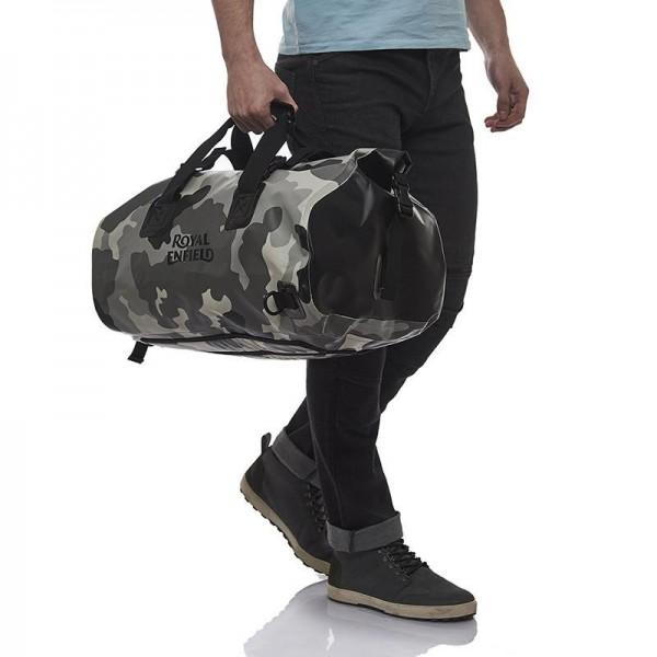 Royal Enfield WP Duffle Bag Sleet Camo