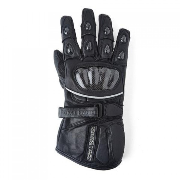 Royal Enfield Long Leather Riding Glove