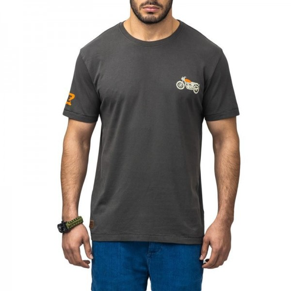 Royal Enfield Interceptor T-Shirt Grey (NEW)