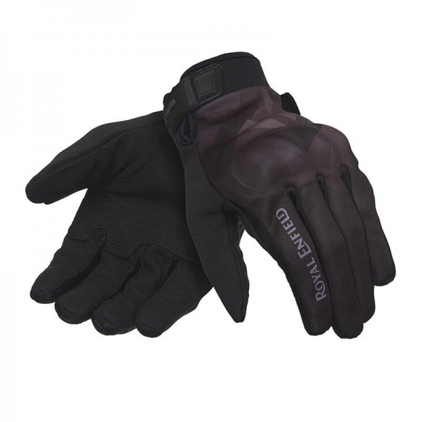 Royal Enfield Camo Glove Black