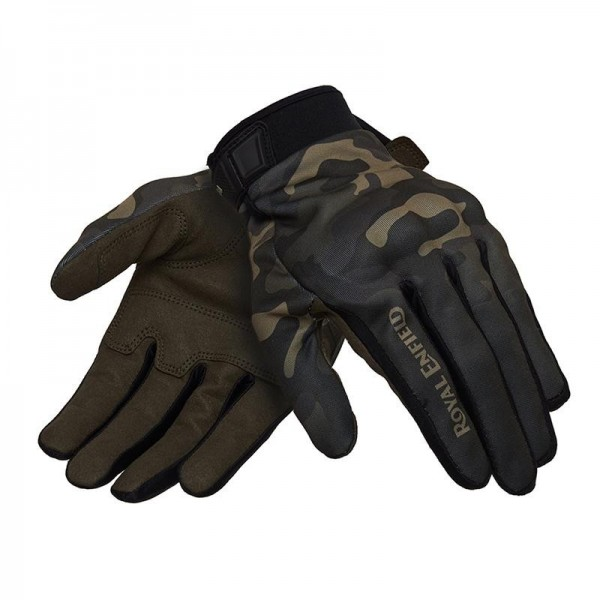 Royal Enfield Camo Glove Olive