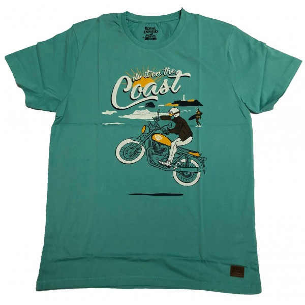 Royal Enfield Do It On The Coast T-Shirt (NEW)