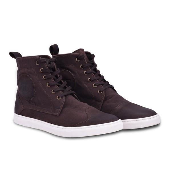 Royal Enfield Alston Canvas Sneaker Brown