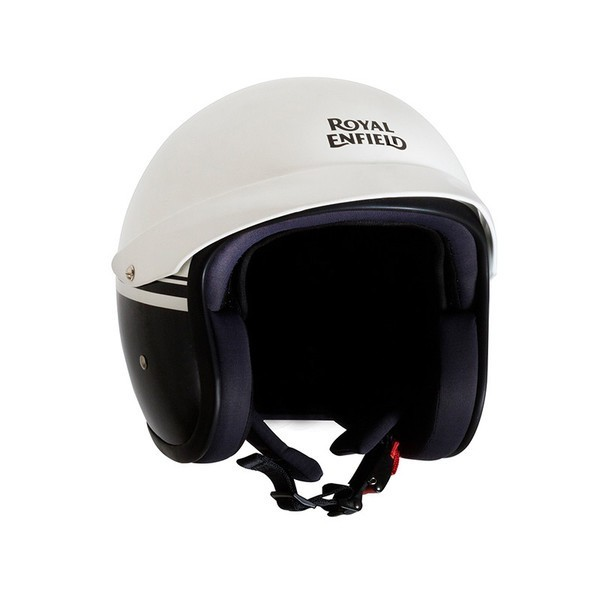 Royal Enfield Sun Peak Helmet White/Black