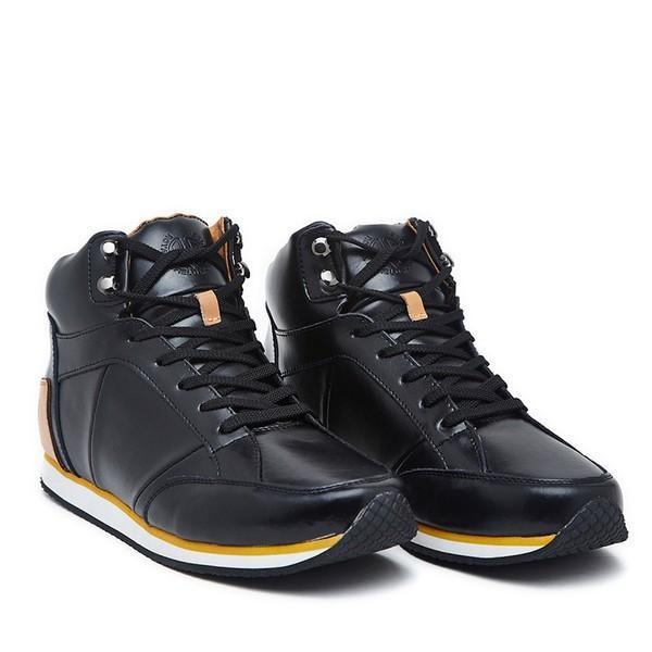 Royal Enfield Mid Top Shoe Black