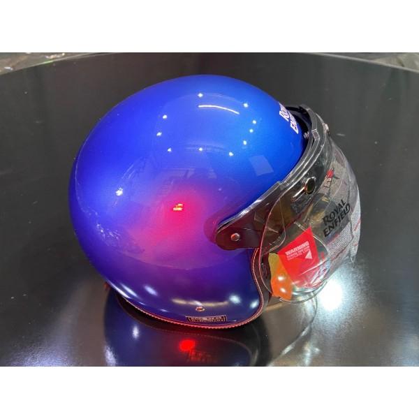Royal Enfield GT Blue Open Face Helmet