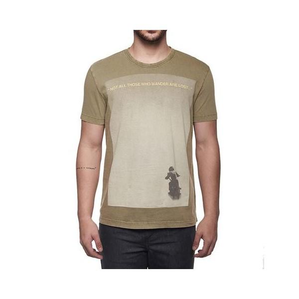 Royal Enfield Wander T Shirt Olive