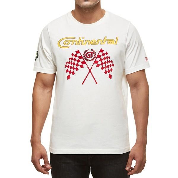 Royal Enfield GT Flag T-Shirt White