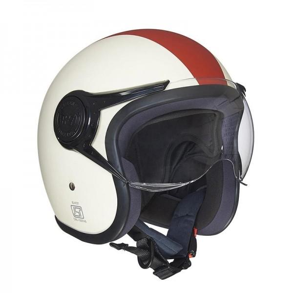 Royal Enfield Spirit Helmet Maroon & White