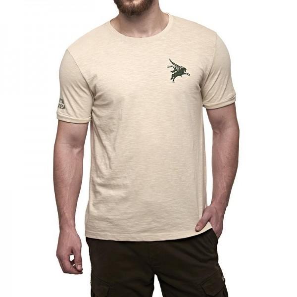 Royal Enfield Pegasus Airborne T-Shirt Dove