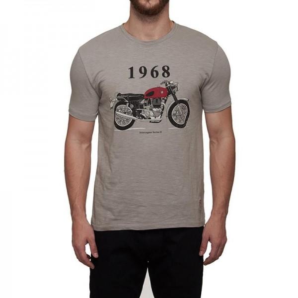 Royal Enfield Interceptor T-Shirt Grey