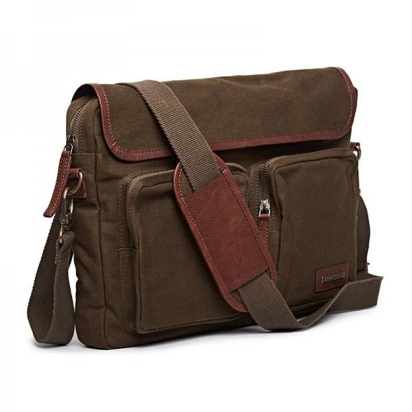 Royal Enfield Flying Flea Messenger Bag Olive