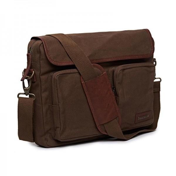 Royal Enfield Flying Flea Messenger Bag Khaki