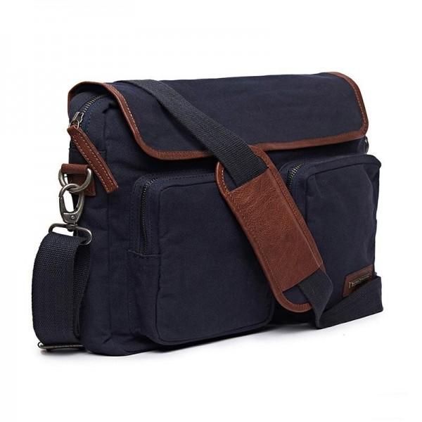 Royal Enfield Flying Flea Messenger Bag Navy