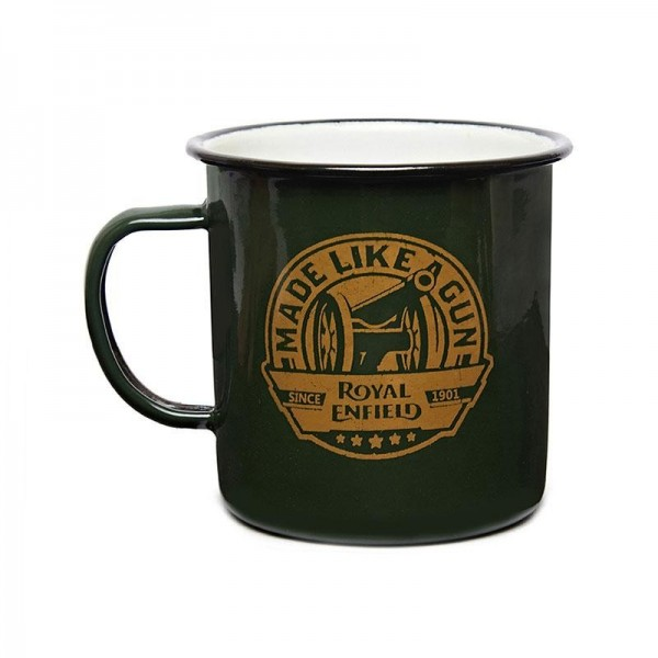 Royal Enfield MLG Enamel Mug Green