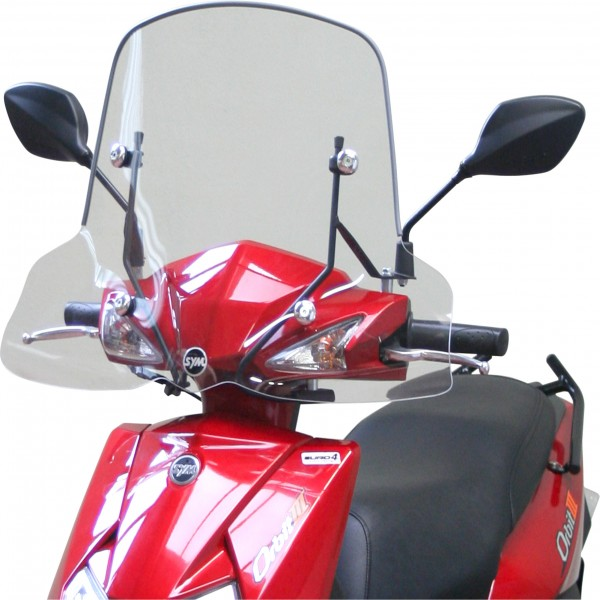 Sym Mask 50 And 125 Small Windscreen